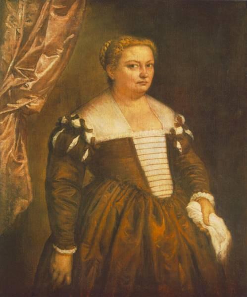 Veronese Portrait of a Venetian Woman